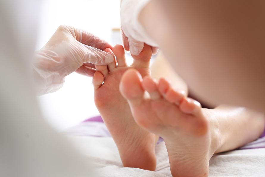 leczenie grzybicy stóp
